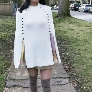 Maje cream cape